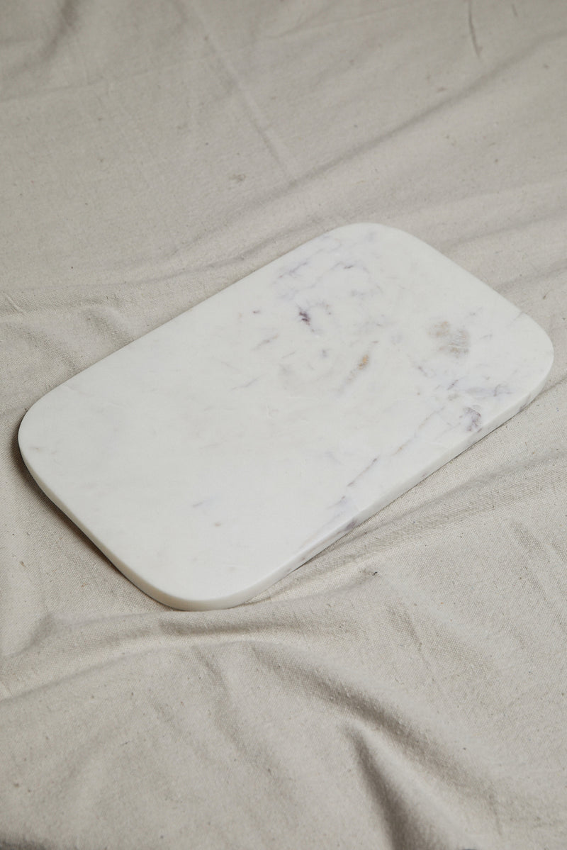 HAWKINS NEW YORK SMALL MARBLE SERVING BOARD