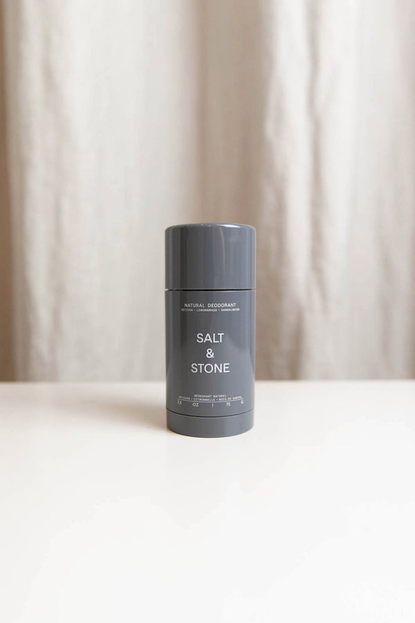 SALT & STONE NATURAL DEODORANT IN VETIVER AND SANDALWOOD