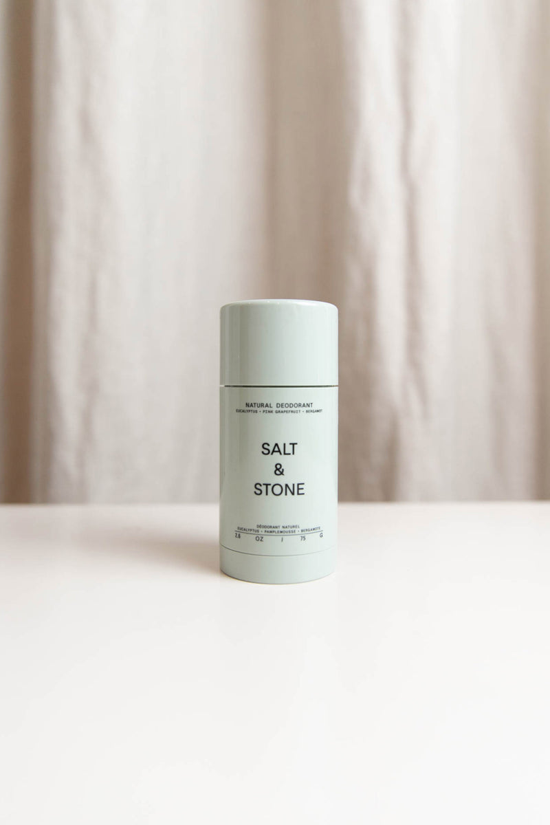 SALT & STONE NATURAL DEODORANT IN EUCALYPTUS