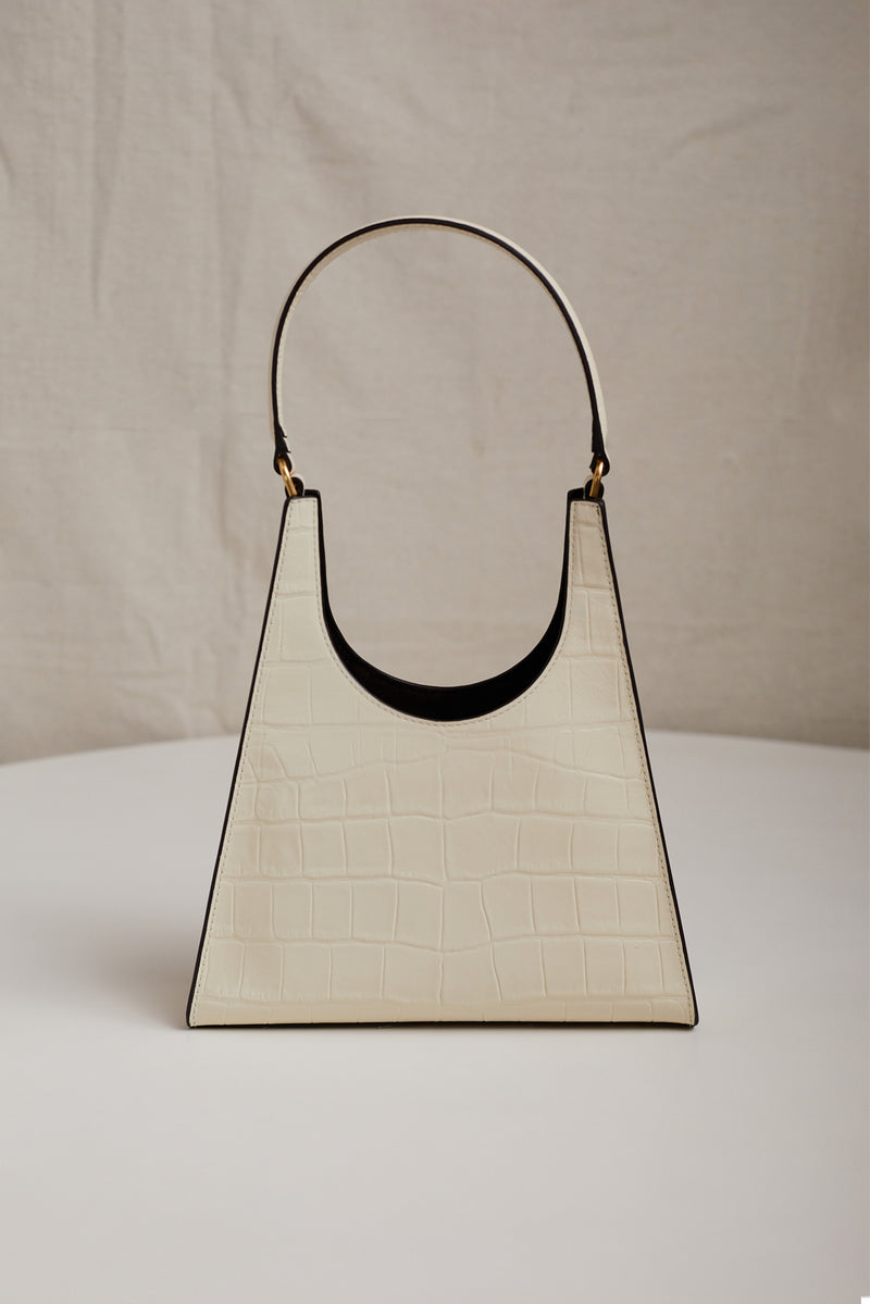 STAUD REY BAG IN CREAM