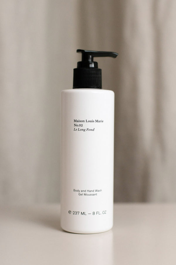 MAISON LOUIS MARIE NO. 02 LE LONG FOND BODY AND HAND WASH