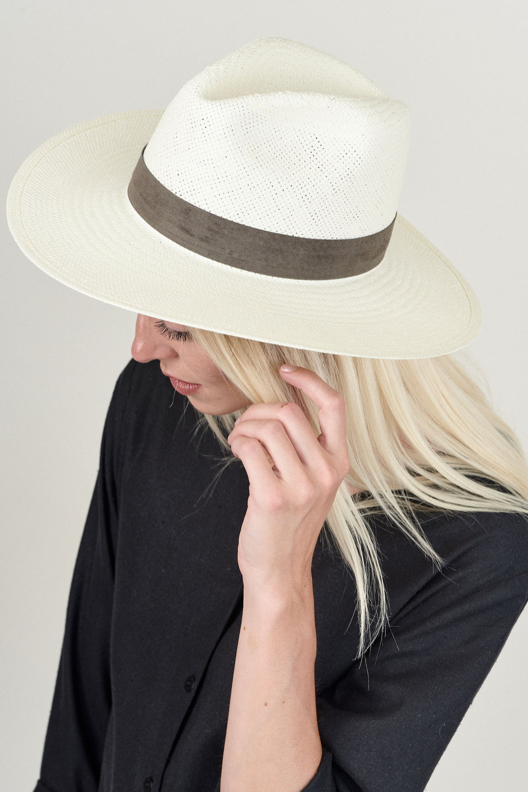 JANESSA LEONE MARCELL STRAW HAT