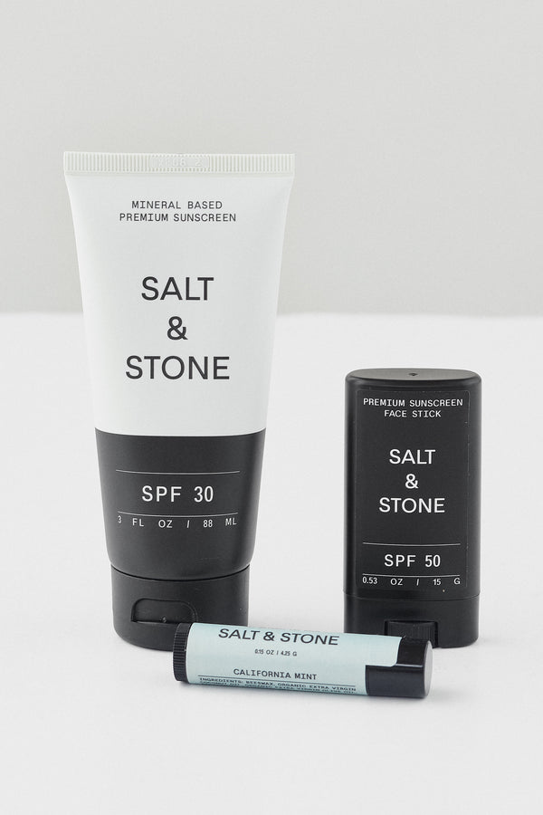 HYDRATING SALT & STONE SUNSCREEN LOTION SPF 30