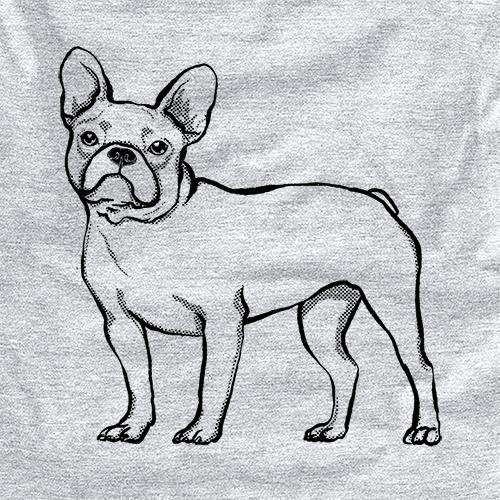 Halftone French Bulldog