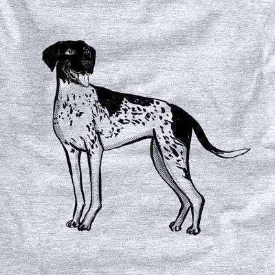 Halftone German Shorthaired Pointer