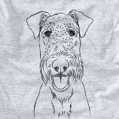 Andy the Airedale Terrier