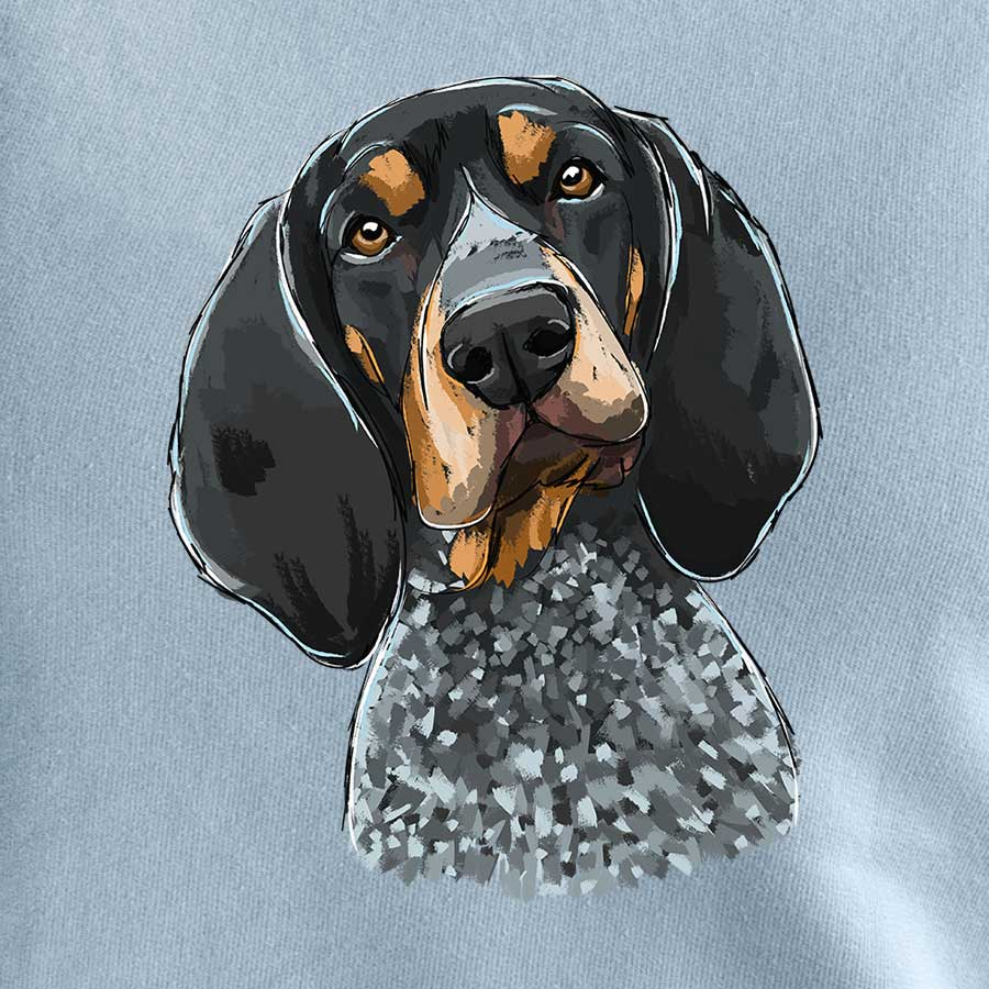 Boone the Blue Tick Coonhound