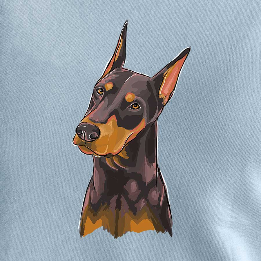 Nike the Doberman Pinscher