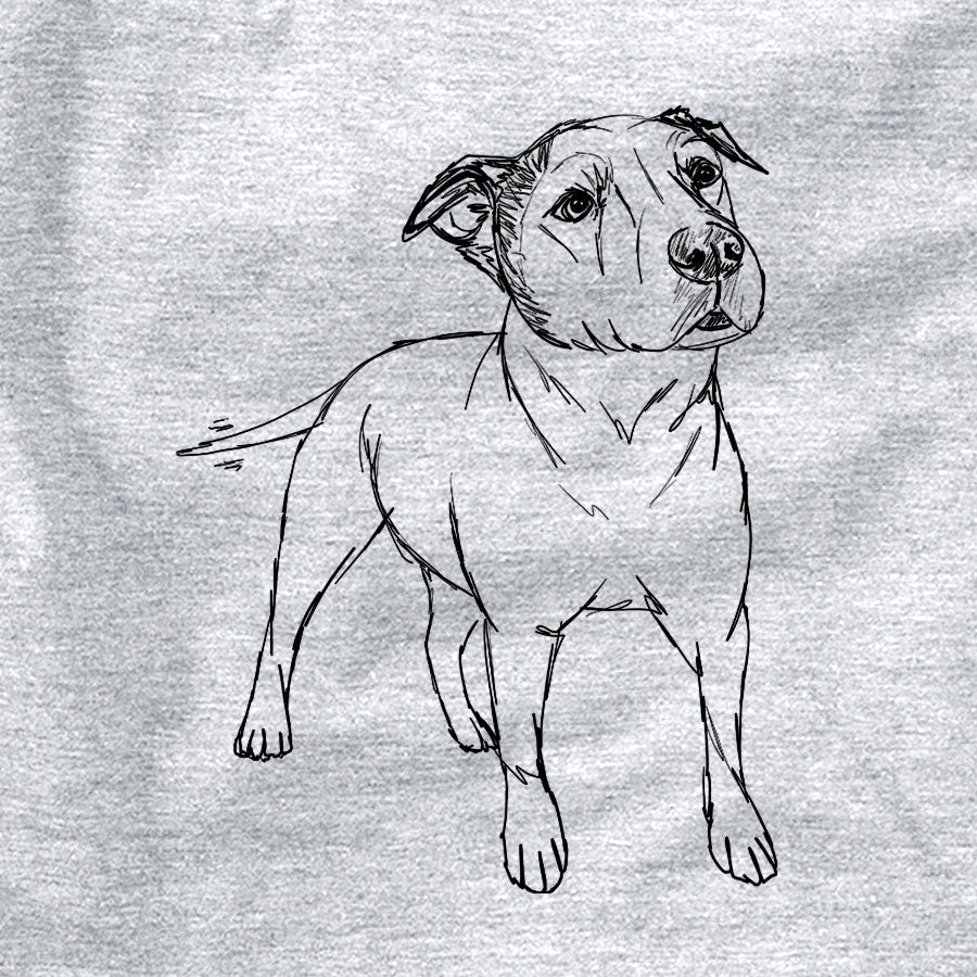 Doodled Bruno the American Staffordshire Terrier