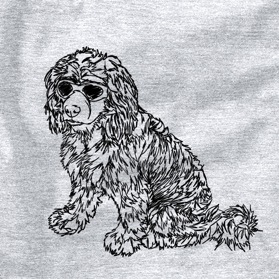 Doodled Coco the Cocker Spaniel