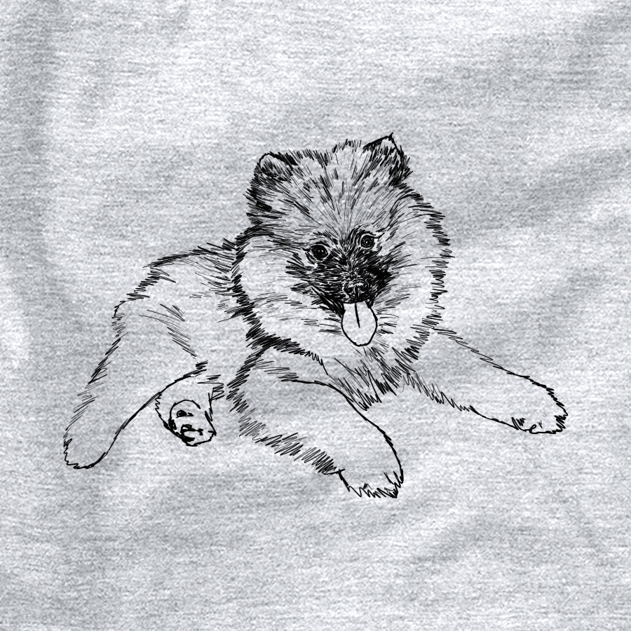 Doodled Double Bubble the Keeshond Puppy