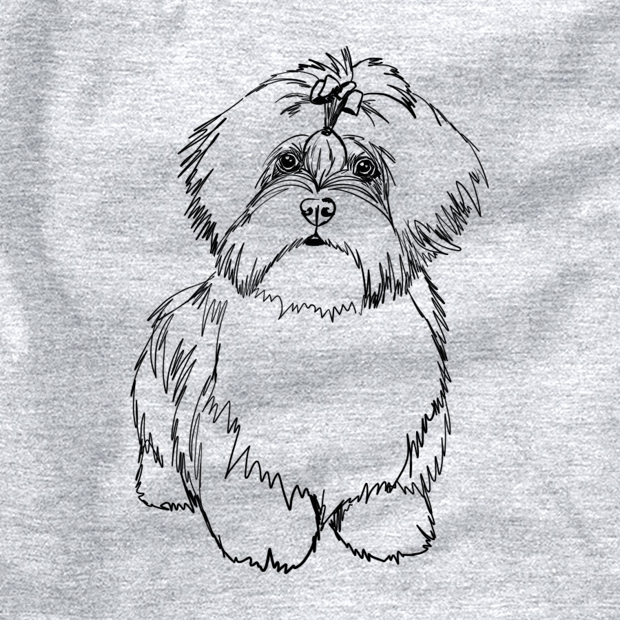 Doodled Laney the Lhasa Apso