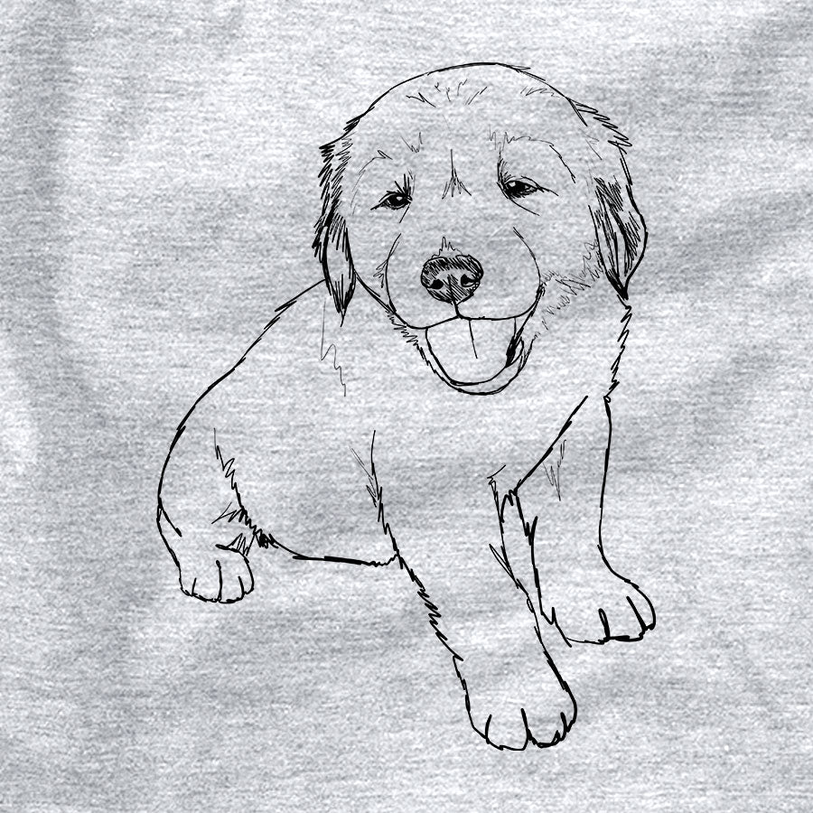 Doodled Loganator the Golden Retriever Puppy