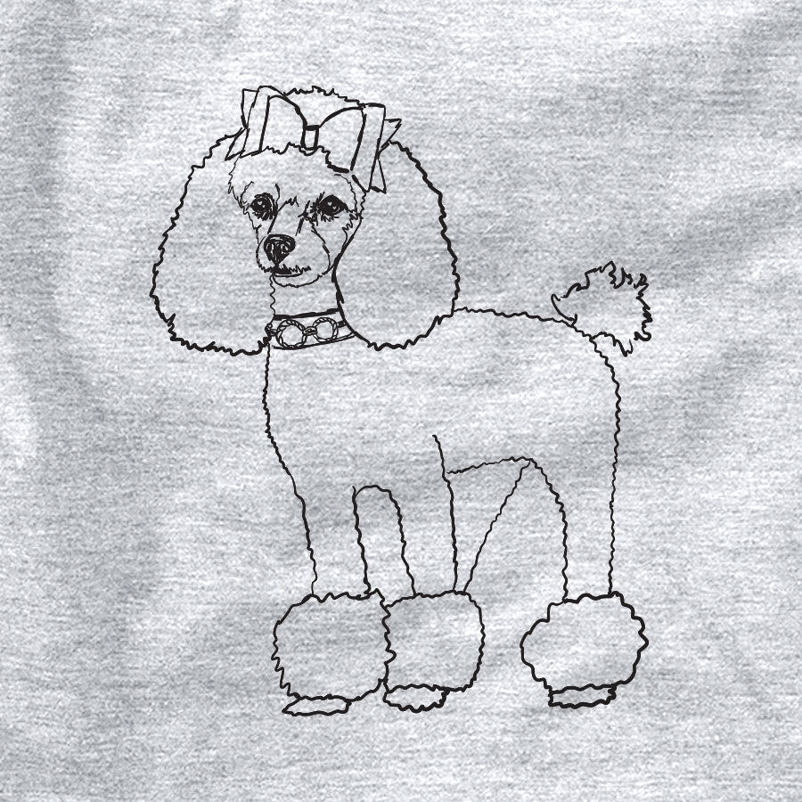 Doodled LouLou the Toy Poodle