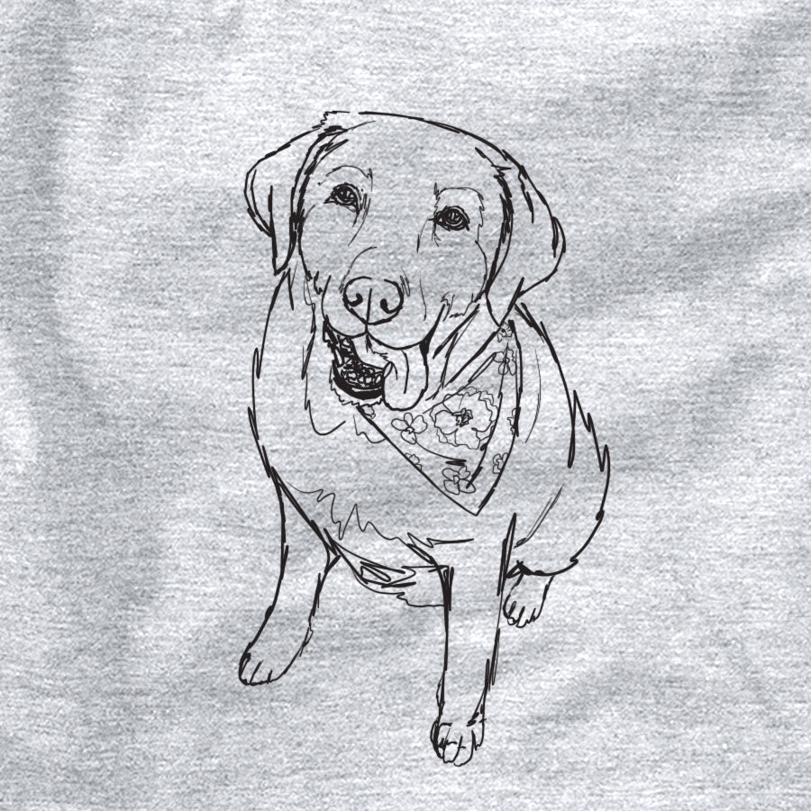 Doodled Maple the Yellow Labrador Retriever