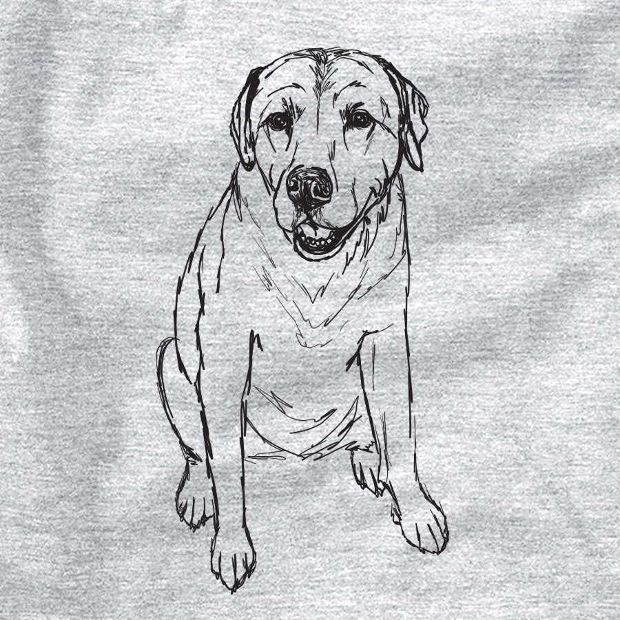 Doodled Rocky the Yellow Labrador Retriever