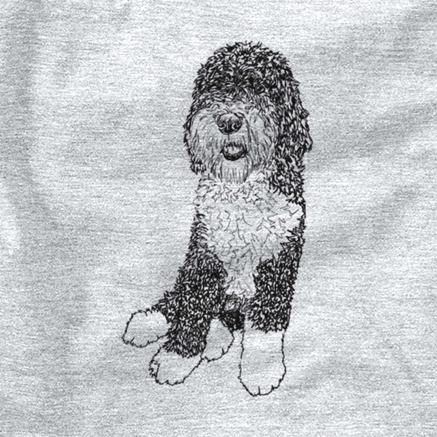Doodled Whittaker the Sheepadoodle