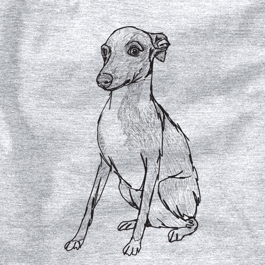 Doodled Winston the Italian Greyhound Puppy