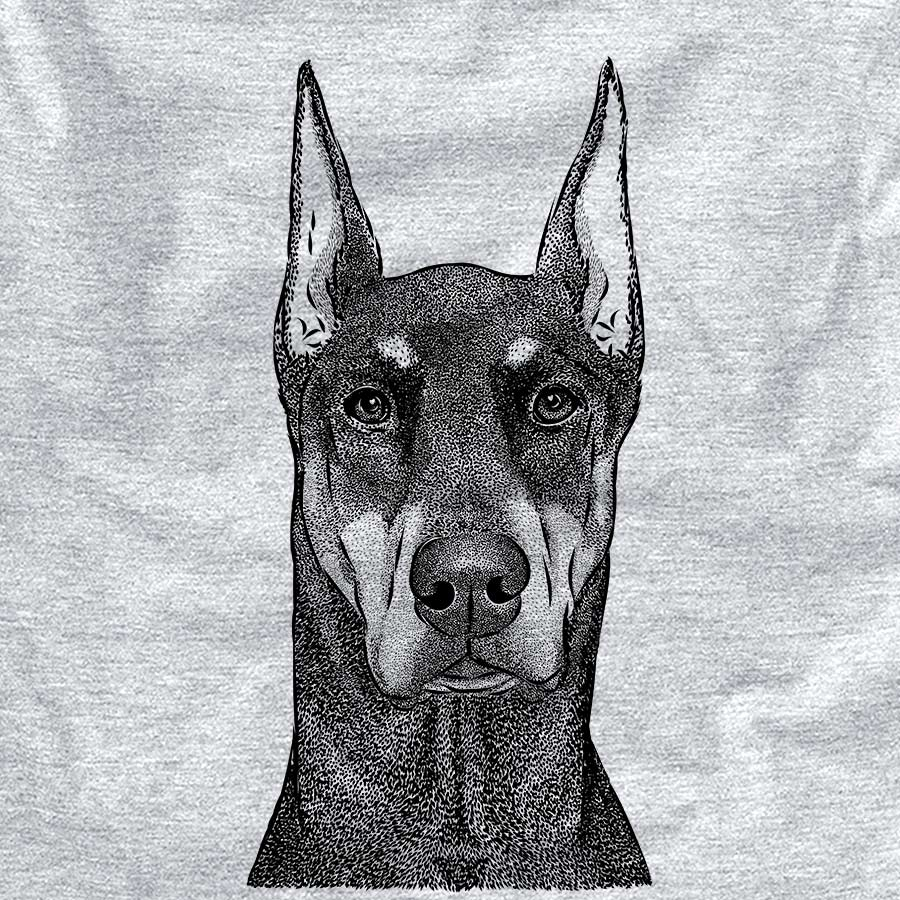 Drake the Doberman Pinscher