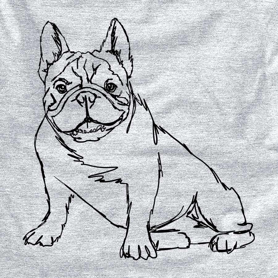 Doodled French Bulldog