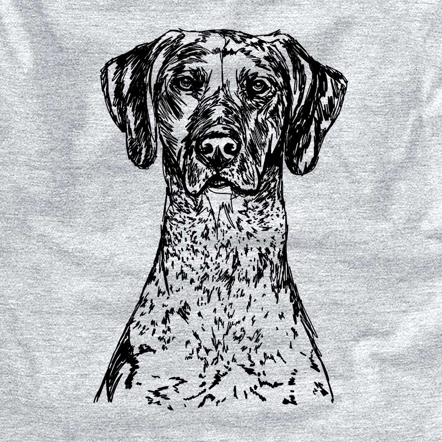 Doodled German Shorthaired Pointer