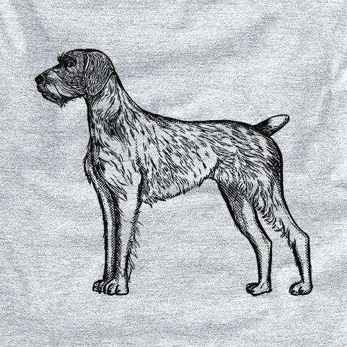 Halftone German Wirehaired Pointer
