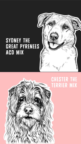 Inkopious Dog Model Contest - Sydney & Chester