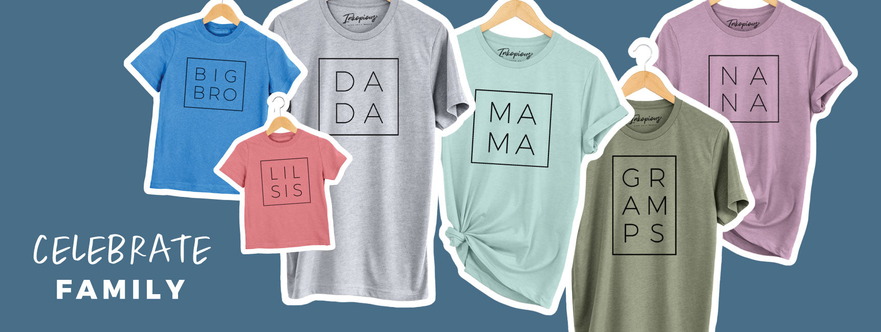 Family Shirts for all. Custom available.