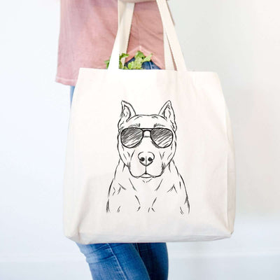 Bane the Staffordshire/Pitbull - Tote Bag