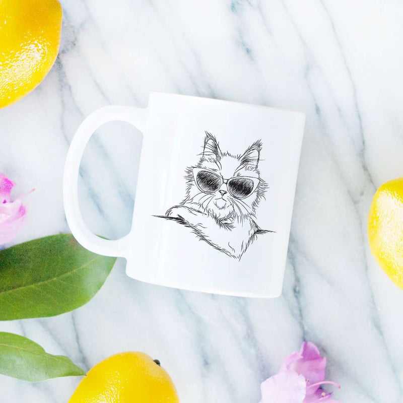 Ginger the Maine Coon - Mug