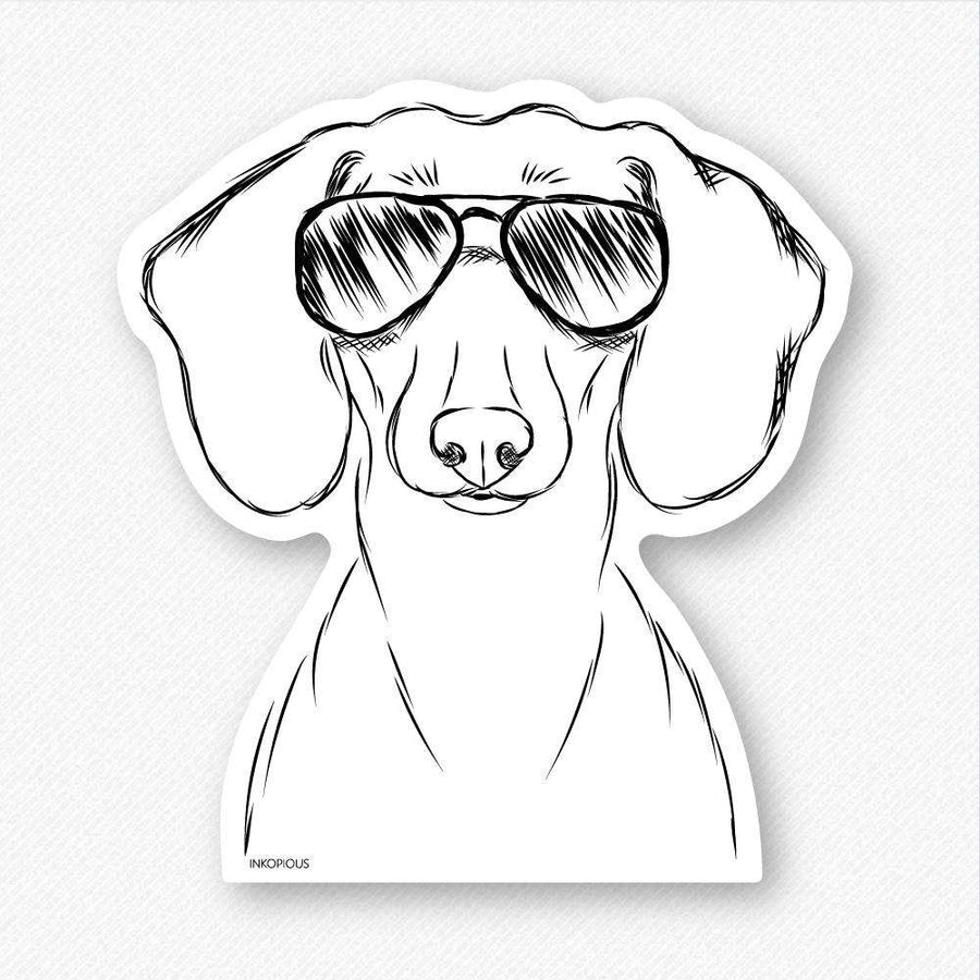 Hans - Dachshund - Decal Sticker