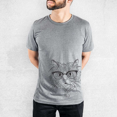 Daniel the Ragdoll Cat - Tri-Blend Unisex Crew Shirt