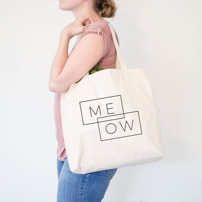MEOW - Double Rectangle - Tote Bag