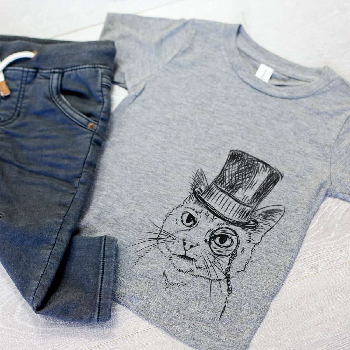 Sir Alfred the Cat - Kids/Youth/Toddler Shirt