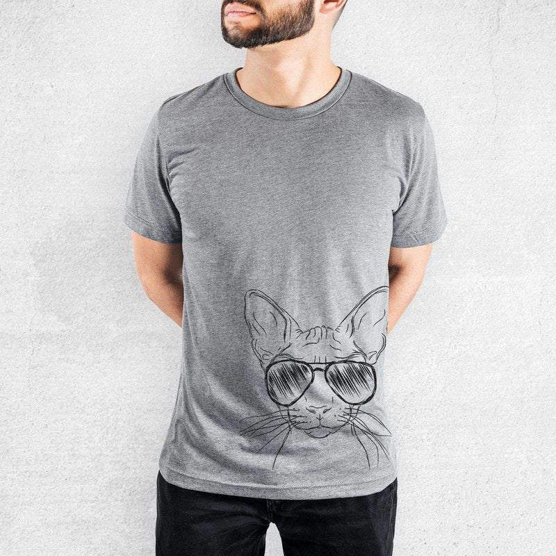 Sammy the Sphinx Cat - Tri-Blend Unisex Crew