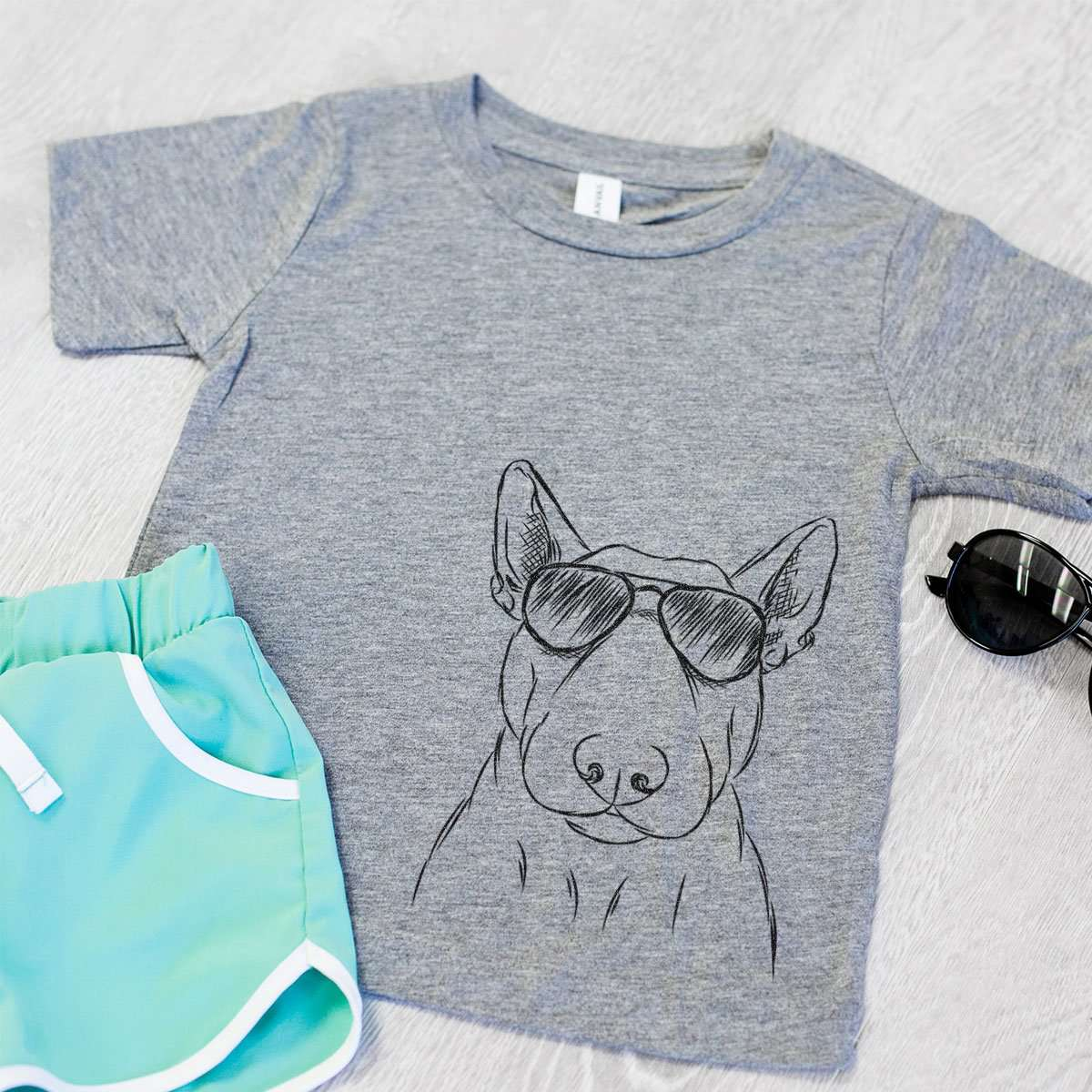 Jett the Bull Terrier - Kids/Youth/Toddler Shirt