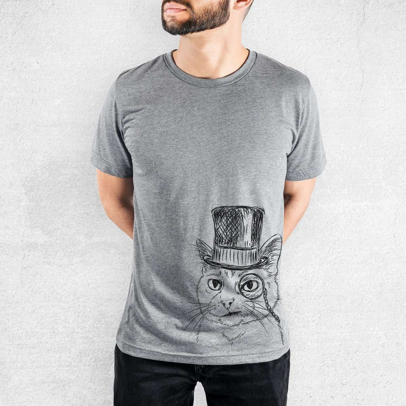 Sir Alfred the Cat - Tri-Blend Unisex Crew
