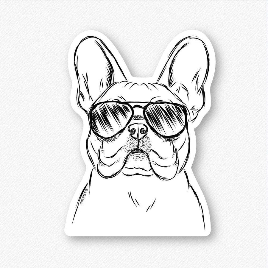 Franco - French Bulldog - Decal Sticker