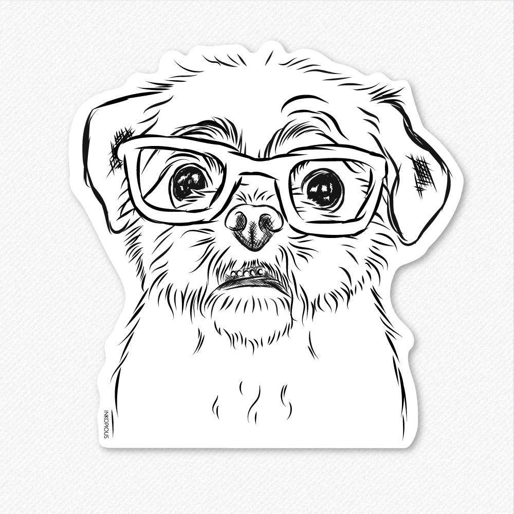 Smash the Shih Tzu - Decal Sticker