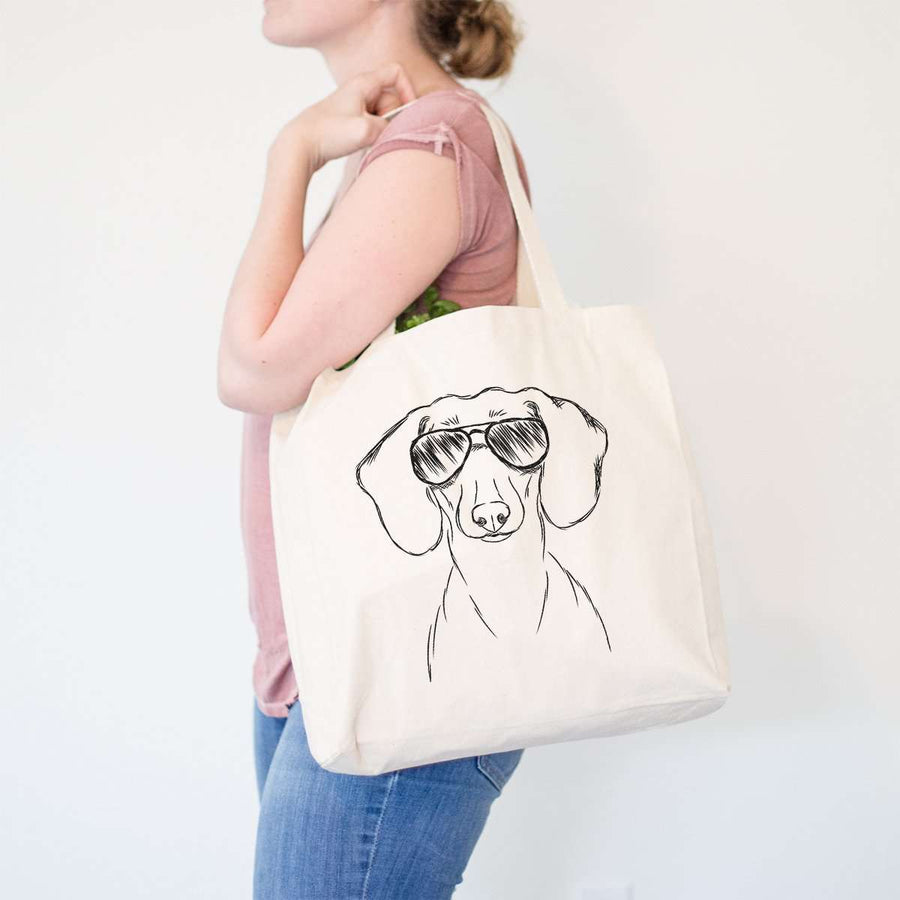 Hans the Dachshund - Tote Bag