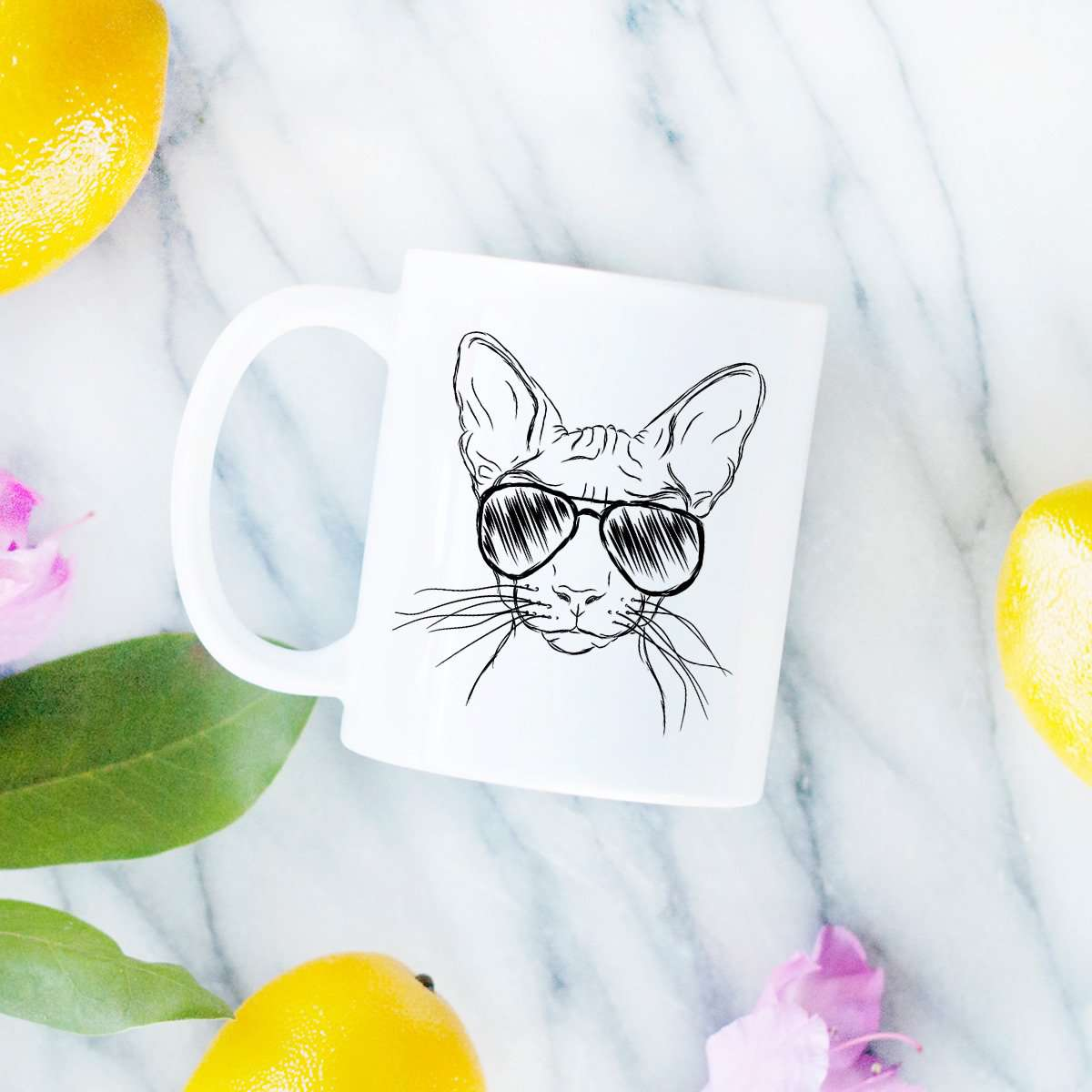 Sammy the Sphinx Cat - Mug