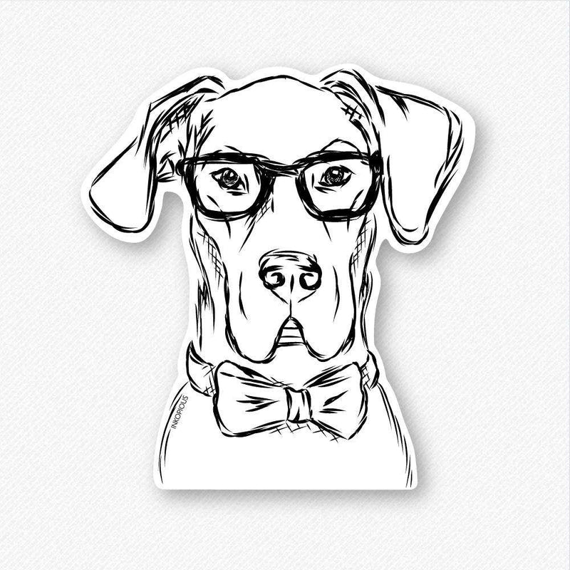 Harvey - Great Dane - Decal Sticker
