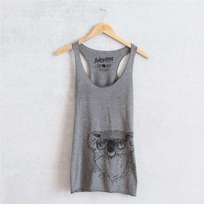 Bentley the Koala - Tri-Blend Racerback Tank