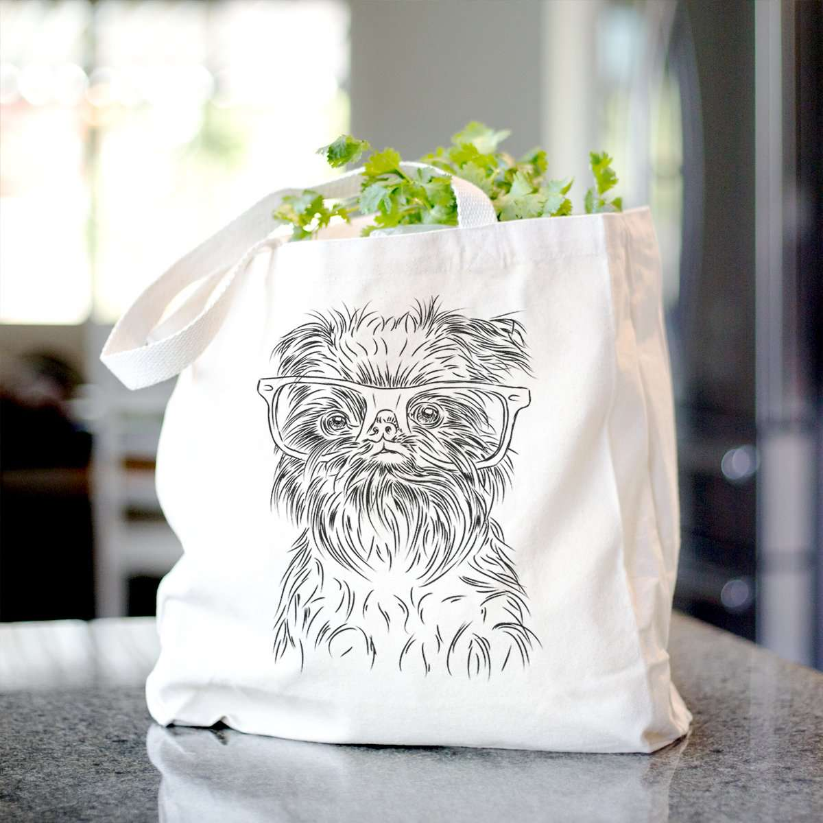 Alo the Brussels Griffon - Tote