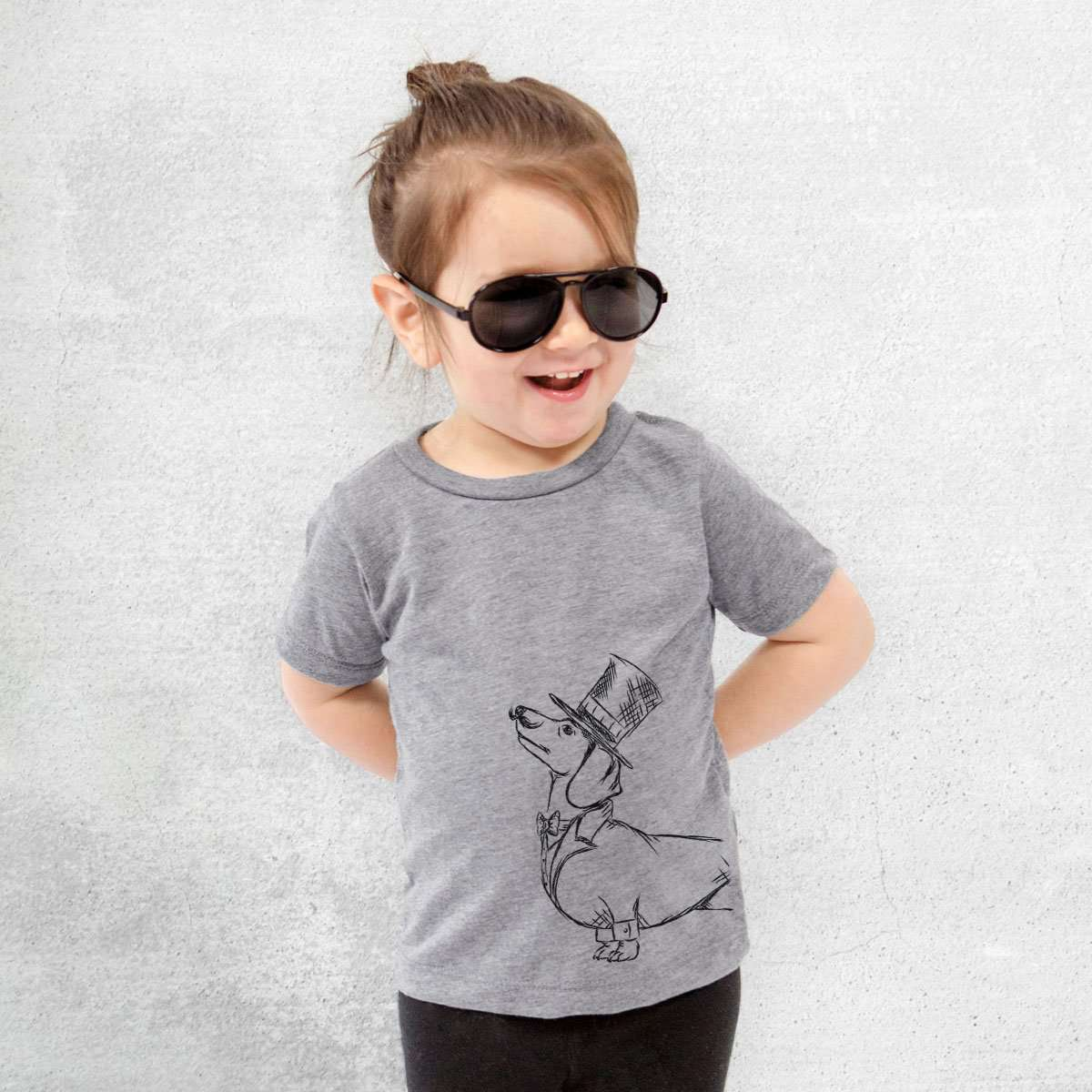 George the Dachshund - Kids/Youth/Toddler Shirt