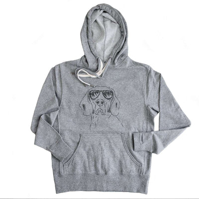 Sagan the Coonhound - French Terry Hooded Sweatshirt