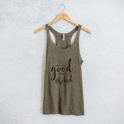 See The Good Racerback Tank