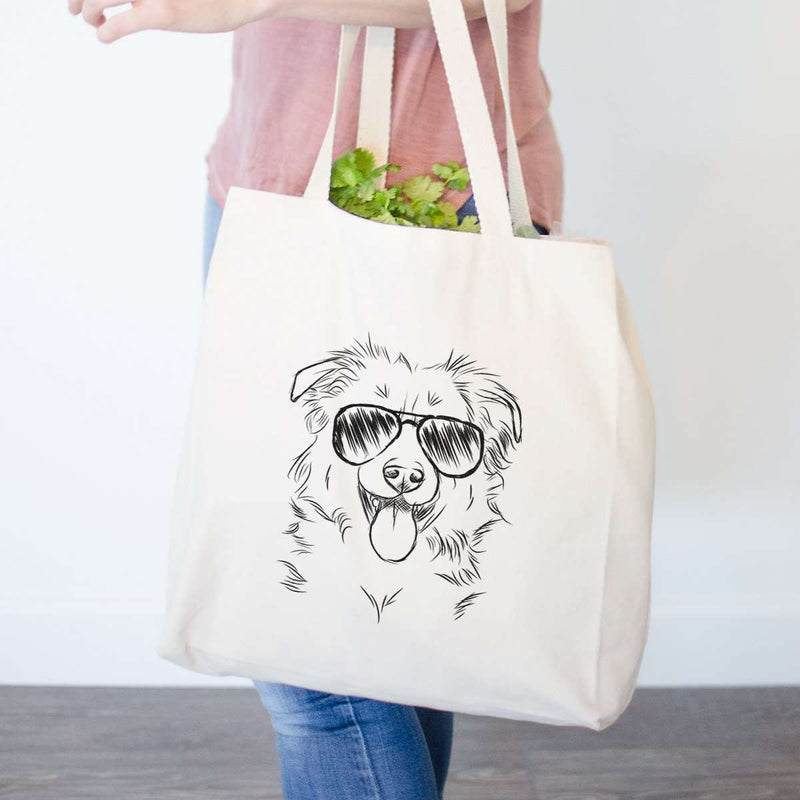 Tucker the Border Collie/Shepherd - Tote Bag
