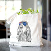 Stu the Black and Tan Coonhound - Tote Bag