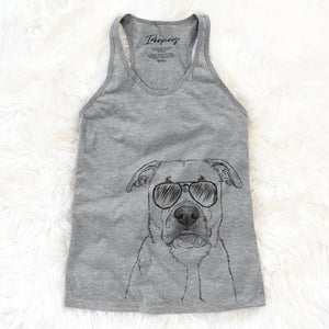 Abby the Boxer/Beagle Mix - Racerback Tank Top